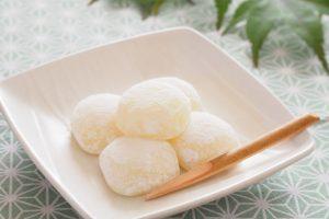 Pasteles de arroz Mochi