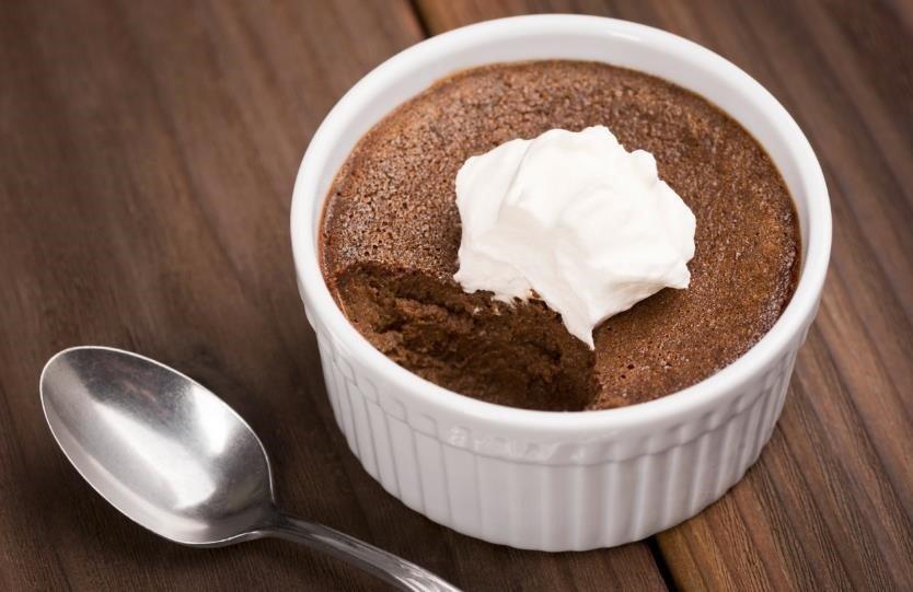 Receta de mousse de chocolate esponjoso