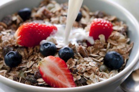 Por qué el muesli es bueno para el desayuno