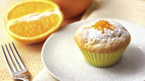 Muffins de naranja y almendra