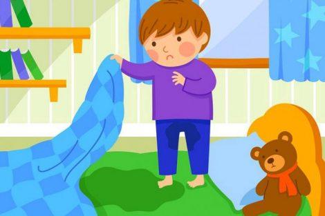 Cuando el niño se orina en la cama: enuresis infantil
