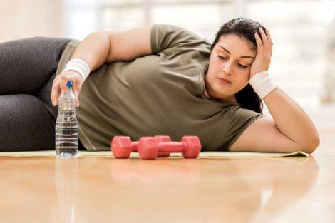 Sobrepeso y obesidad causado por ansiedad, estrés y depresión