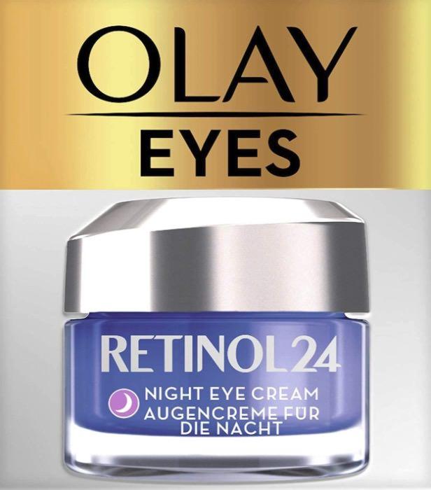 Olay Crema para el Contorno de Ojos de Noche con Retinol