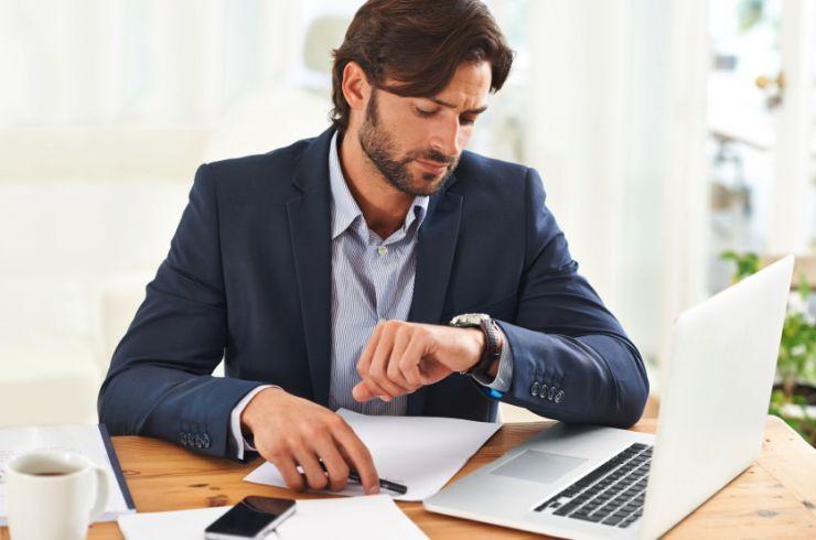 Aprovechar el tiempo en el trabajo