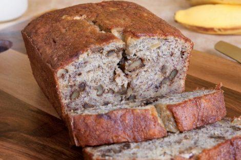 Pan de nueces: receta deliciosa fácil de hacer
