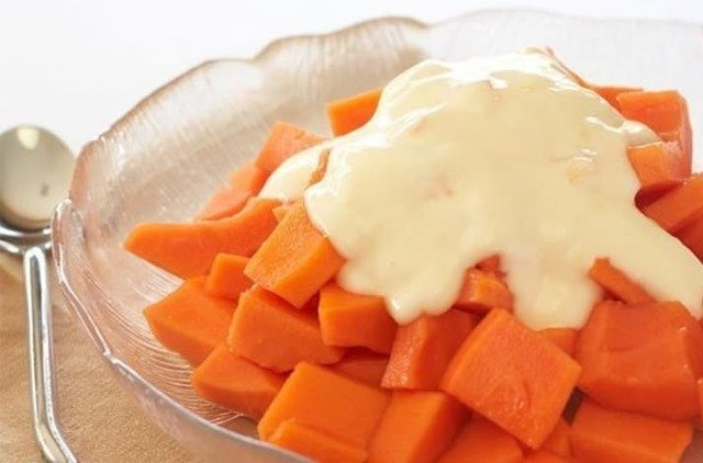 papaya-yogur