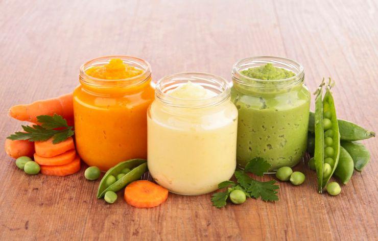 El paso a los alimentos sólidos