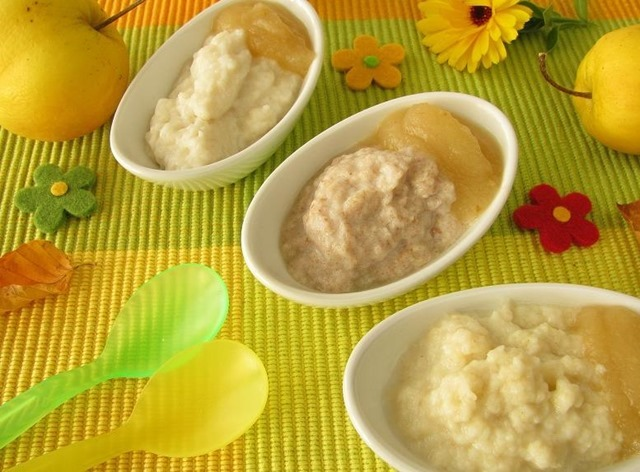 3 recetas de papillas de frutas para beb s de 4 a 6 meses - Cereales bebe 5 meses ...