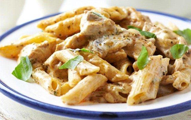 pasta-pollo-jengibre