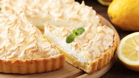 Cómo hacer pastel de limón y merengue