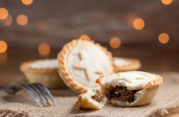 Receta de pastelitos de carne navideños
