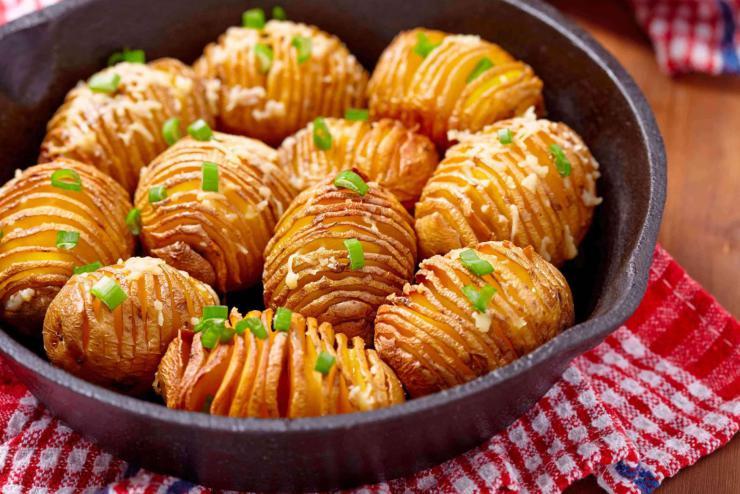 Patatas acordeón estilo Hasselback