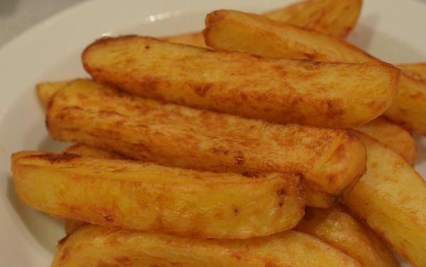 Patatas fritas ligeras