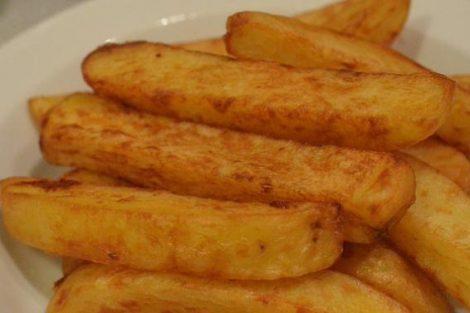 Cómo hacer patatas fritas más ligeras