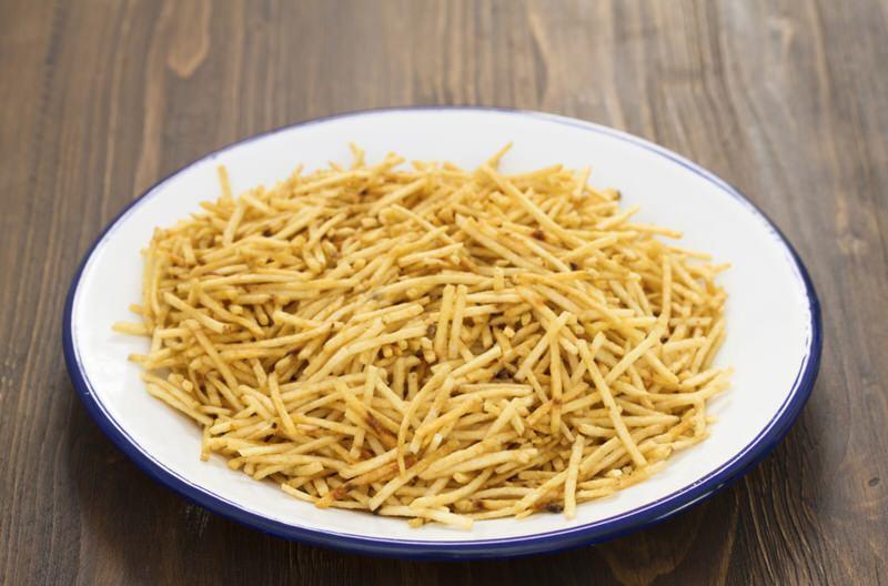 Receta de Patatas Paja