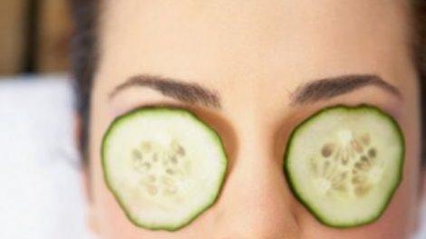 Beneficios del pepino para los ojos