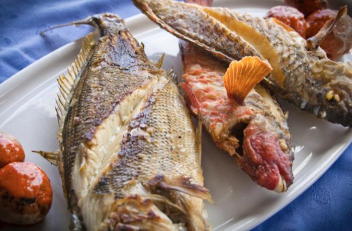 Pescado con mojo canario