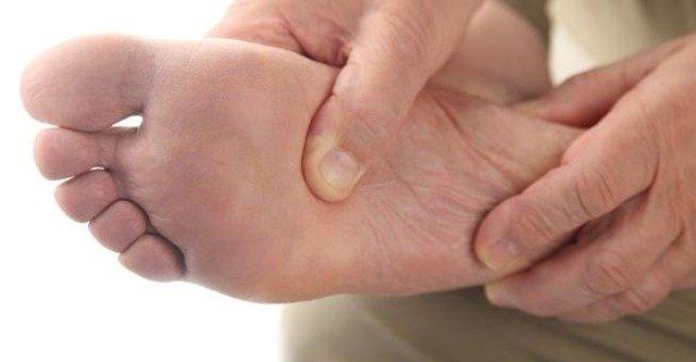 Los síntomas del pie diabético