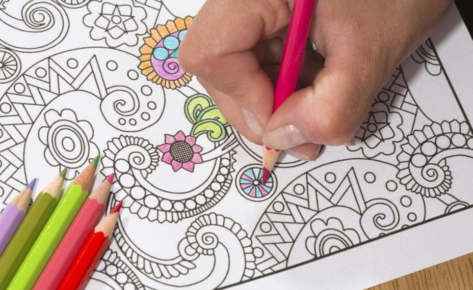 El significado de tu mandala pintado y coloreado