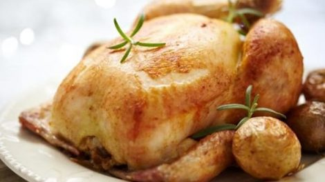 Receta de pollo al horno o asado