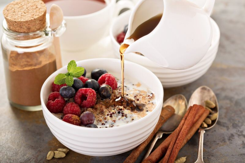 Porridge de quinua