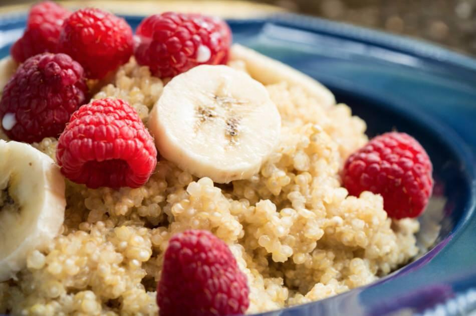 Cómo hacer porridge de quinoa
