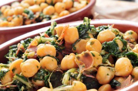 Potaje de Cuaresma: Receta de potaje de espinacas y garbanzos