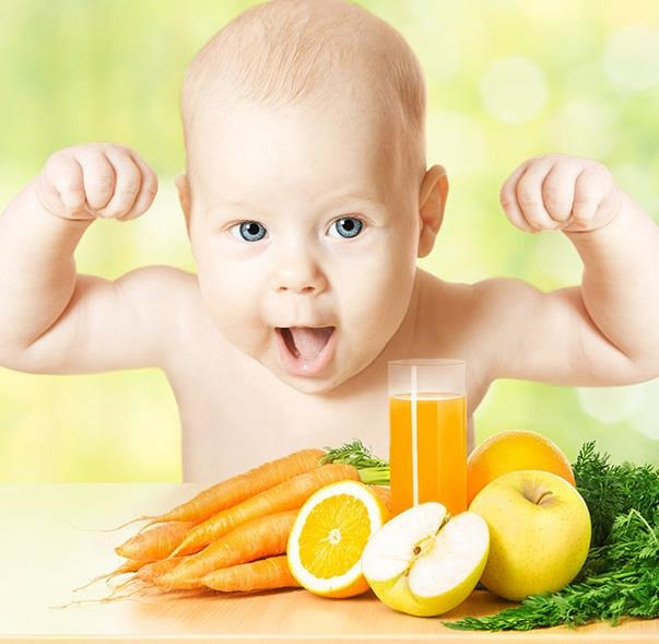 Primeros zumos del bebé
