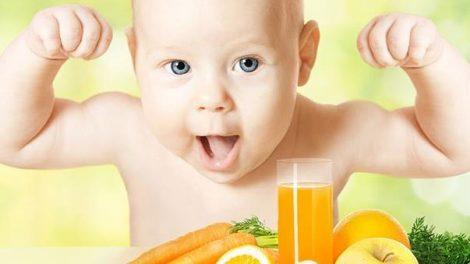 Los primeros zumos del bebé