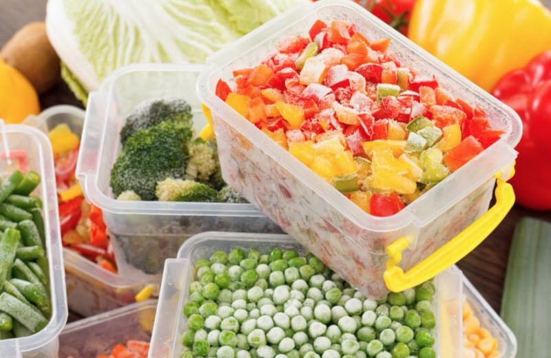 Cualidades nutritivas de los alimentos congelados
