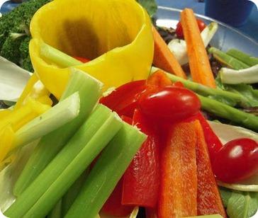 Vegetales crudos: beneficios y propiedades
