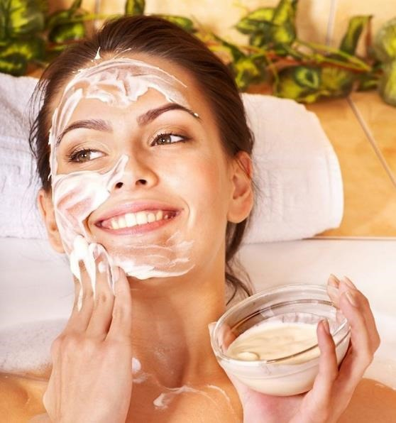 Beneficios del yogur en la piel