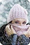 Proteger la cara del frío