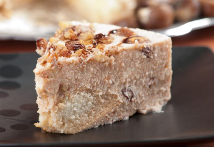 Receta de pudding de castañas