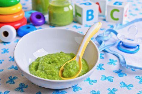 Puré de calabacín para bebés y niños (a partir de 6 meses)