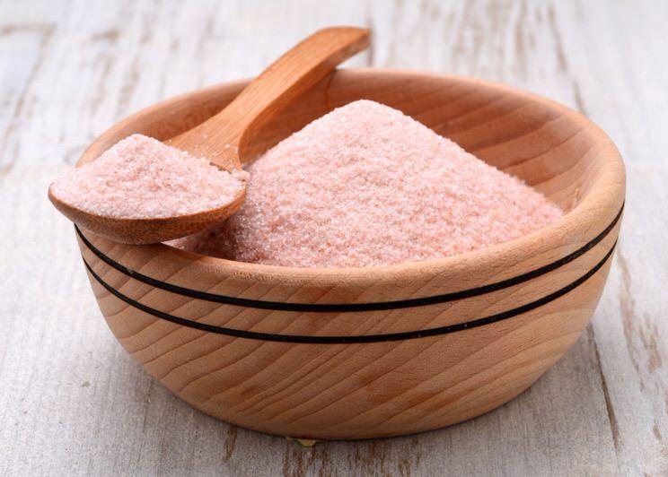 La rosada sal del himalaya