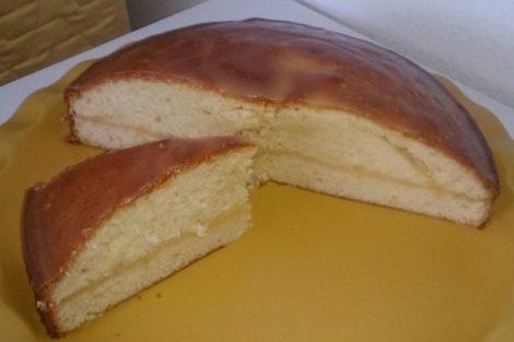 Queque bañado y relleno de lemon curd: receta deliciosa