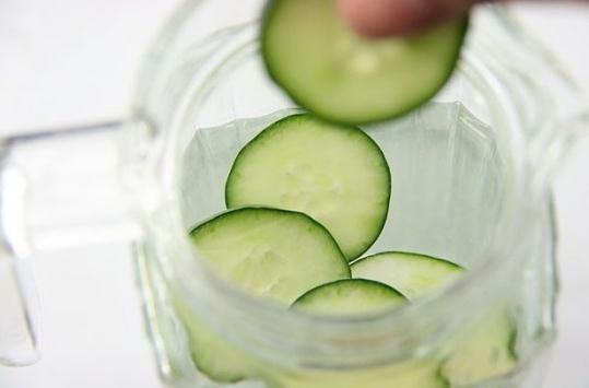 Receta de agua de pepino