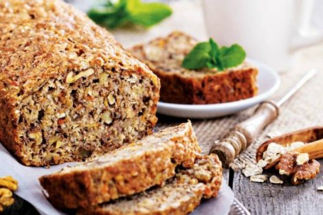 Receta de pan de queso y nueces ideal para desayuno y merienda