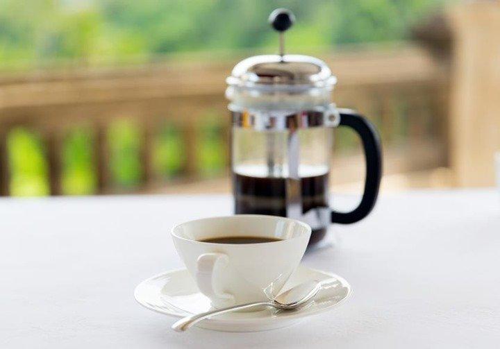 Receta para hacer café con cafetera francesa