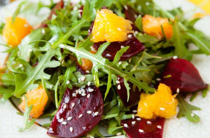 Receta de ensalada fresca de citricos