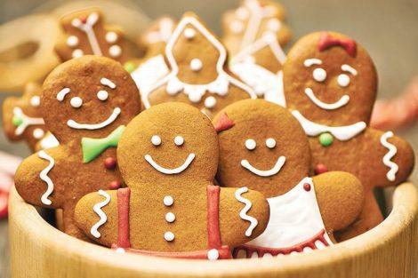 Tradicionales galletas de jengibre navideñas: cómo hacerlas