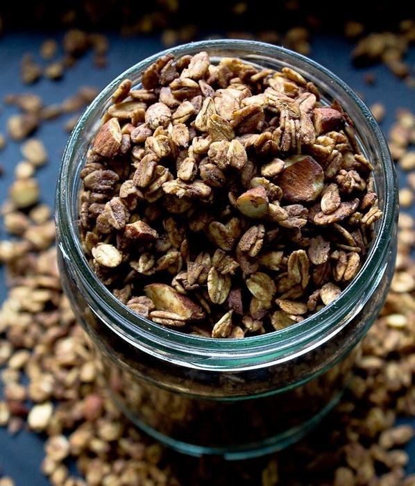 Receta para hacer granola