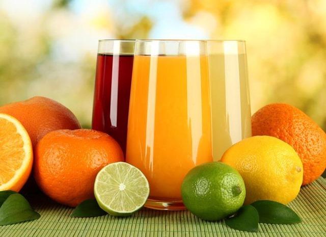 Receta de jugo de cítricos
