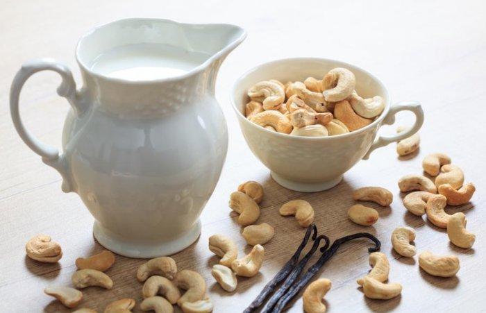 Receta de leche de anacardo