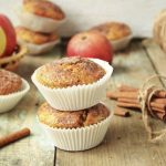 Magdalenas con manzana y especias: receta maravillosa