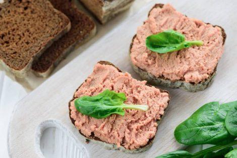 Paté de habas de soja vegetal: receta paso a paso