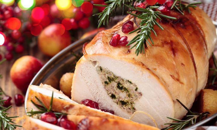 Cómo hacer un pavo asado para Navidad