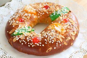 Roscón de Reyes vegano. Receta de Navidad