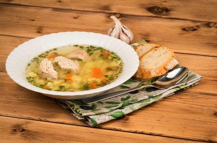 Receta de sopa de pollo casera